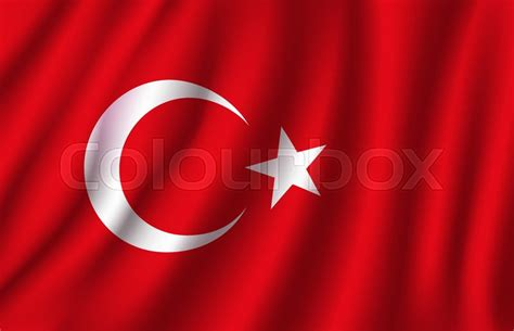 turkey flag   white crescent moon  star  red