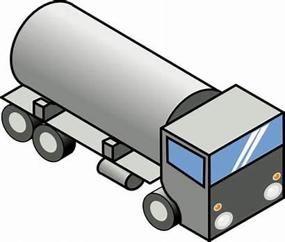 Clipart Tanker Oil Tank Clipground Milk Vacuum