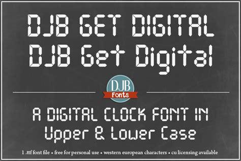 Get Font From Image Image Gallery For Djb Get Digital Font Fontspace