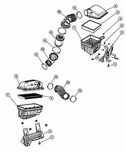 Dodge Ram 2500 Gauge  Sensor  Air Flow  Air Restriction
