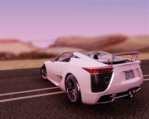 lexus lfa convertible gtainside gta mods addons cars maps skins and more