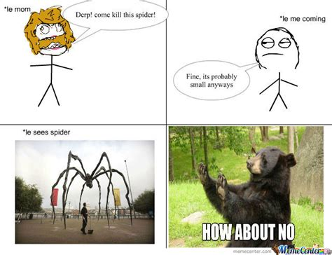 Scary Spider Meme - giant scary spiders memes