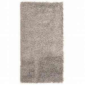 tapis shaggy descente de lit longue meche gris achat With tapis shaggy avec canapé lit but d occasion