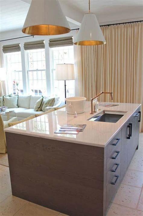 el marmol blanco vuelve  las cocinas mas modernas
