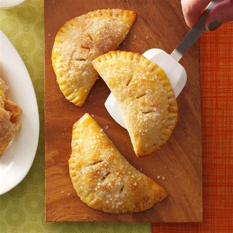 pies recipes hand held apple pies recipe taste of home