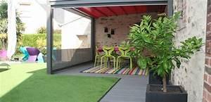 Decoration Jardin Terrasse : 5 conseils pour une terrasse de jardin moderne et pop ~ Teatrodelosmanantiales.com Idées de Décoration