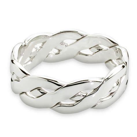 bague mariage or blanc white gold celtic wedding ring wedwebtalks