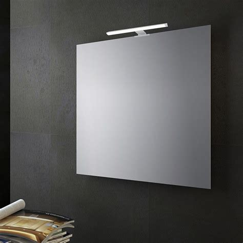 illuminazione led per specchio bagno specchio bagno reversibile con lada led 70x70 cm san