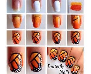 Diy butterfly nail designs beauty tips hair care vine vera
