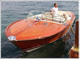 Italian Wooden Speed Boats For Sale