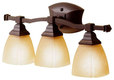 Traditional Bathroom Lighting Fixtures by Country Cottage Sunset Bronze Backbar 22 Quot Wide Bathroom