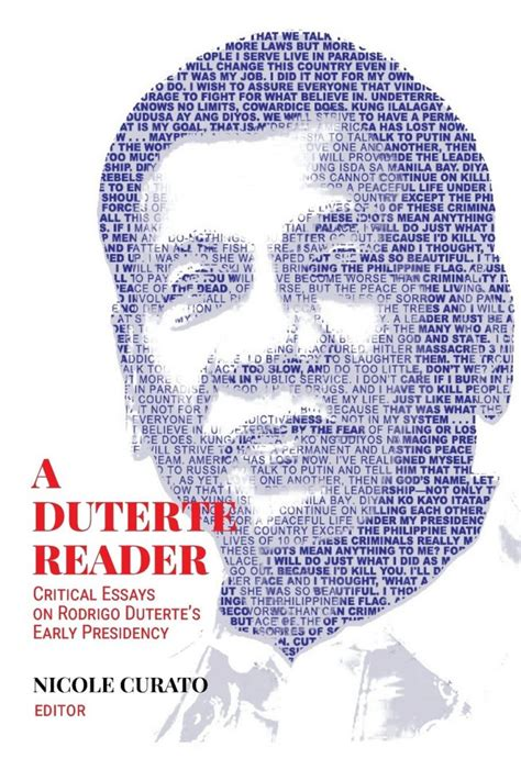 All the books about Duterte since he became president two