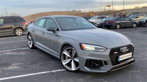 2019 Audi Rs5 by 2019 Audi Rs5 Sportback Review Drive