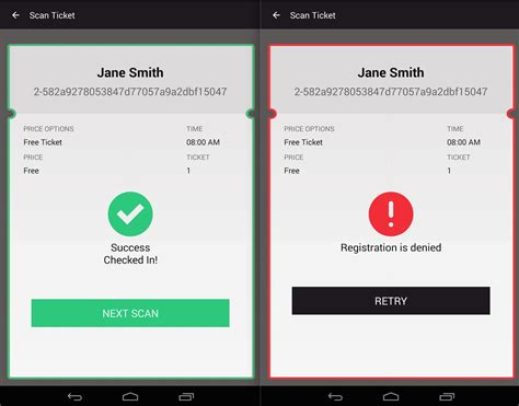 scan android event mobile apps for barcode and qr code ticket scanning