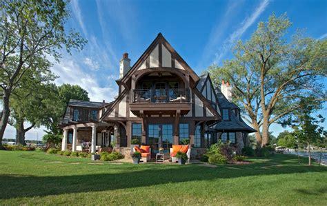 Elegant Englisch Schönes Haus Am Fluss Mit Fantastischer