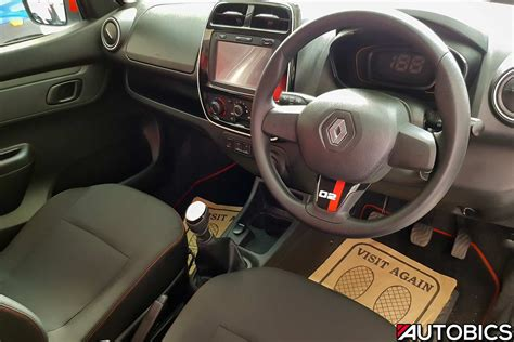 kwid renault interior renault kwid 2nd anniversary edition video and images