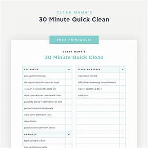 A Simple Holiday Cleaning Checklist  U2013 Clean Mama