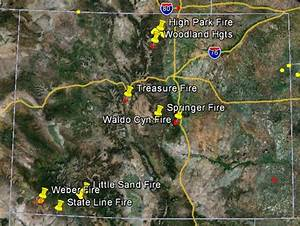 Claire the Armadillo: Nikki Post: Colorado Wildfires