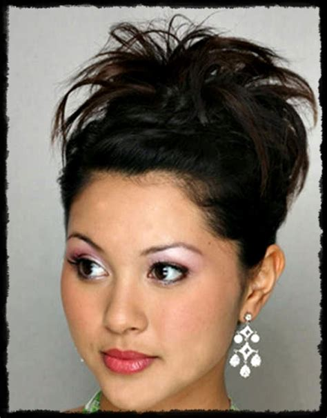 cute super easy updos  short hair hair fashion