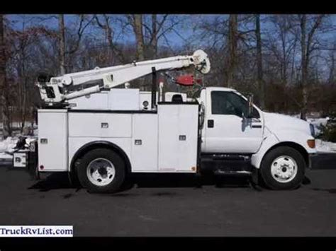 electric truck for sale used utility trucks for sale youtube