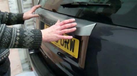 remove  rear handle  land rover freelander