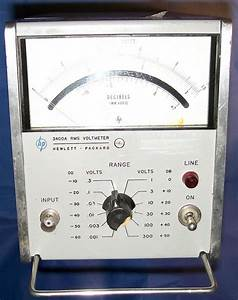 Hp 3400a Rms Voltmeter Manual
