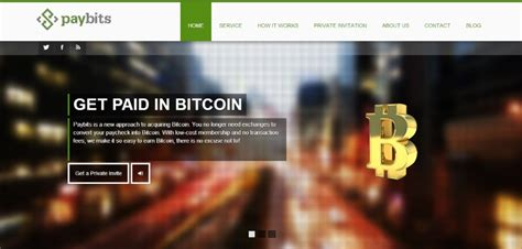 Get Paid In Bitcoin by Paybits Lets You Get Paid In Bitcoin Launches Beta This Month