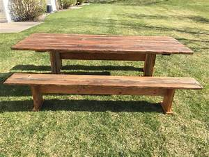 Handcrafted, Farmhouse, Table