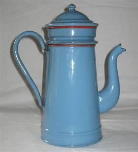 Cafetiere A L Ancienne : cafeti re ancienne en t le maill e bleue avec rebords ~ Premium-room.com Idées de Décoration