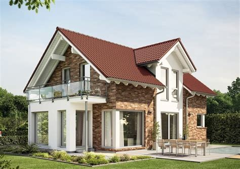 Moderne Häuser Mit Klinker by Satteldach Haus Modern Mit Klinker Fassade Und Querhaus