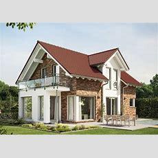 Satteldachhaus Modern Mit Klinker Fassade Und Querhaus