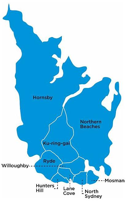 Sydney Northern Beaches Map Locations Health North