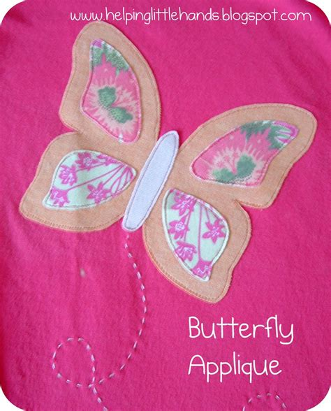 patterns for applique pieces by polly butterfly applique
