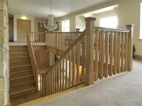 decorations solid wood stair spindles handrails