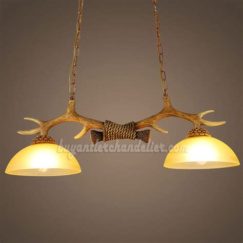 Chandelier Style Ceiling Lights by Best 2 Antler Chandelier Two Cast Ceiling Lights Antique