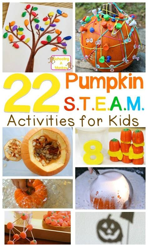 Steam Pumpkin Theme That Will Make Science Fun  Pumpkin Stem, Stem Activities And Fall Pumpkins