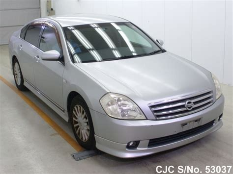 2003 Nissan Teana Silver For Sale Stock No 53037