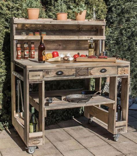Küche Aus Europaletten by Grilltisch Aus Paletten Grill Tisch Aus Europaletten