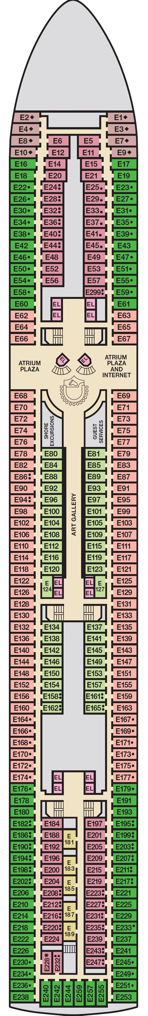 Carnival Riviera Deck Plan by Cruises Aboard Carnival Elation Carnival Cruise Lines