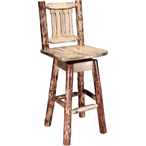 30 Inch Swivel Bar Stools With Back by Bar Stool With Back And Swivel 30 Inch Glacier Country