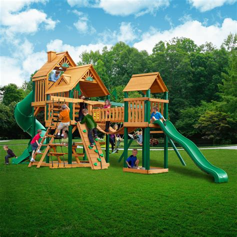 Backyard Play Set by Playground Playsets Swing Set School Commercial Rent