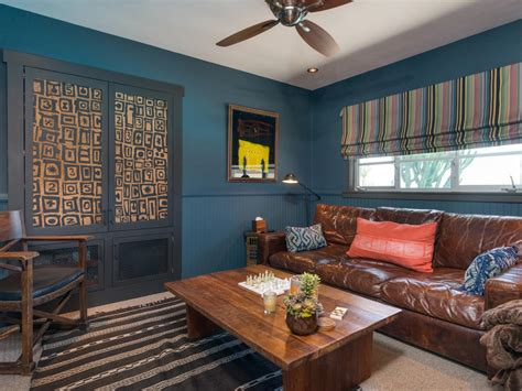Living Room Blue Walls : Color Trends At High Point Market