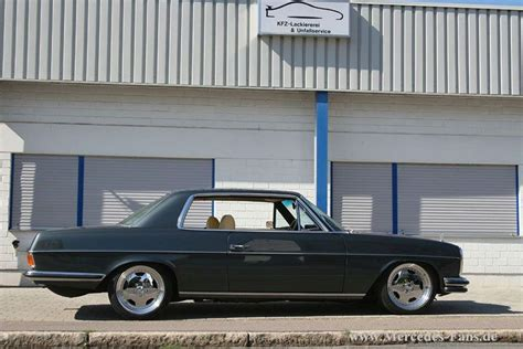 From wikimedia commons, the free media repository. Mercedes Benz W114 280C Coupe on AMG Aero I Wheels 02 | cars | Pinterest | Mercedes benz, Wheels ...