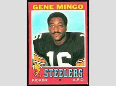 Gene Mingo 1971 Topps #227 Vintage Football Card Gallery