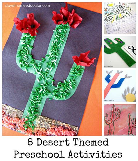 eight desert theme preschool activities 602 | Desert Themed Preschool Unit Stay At Home Educator 1715x2000