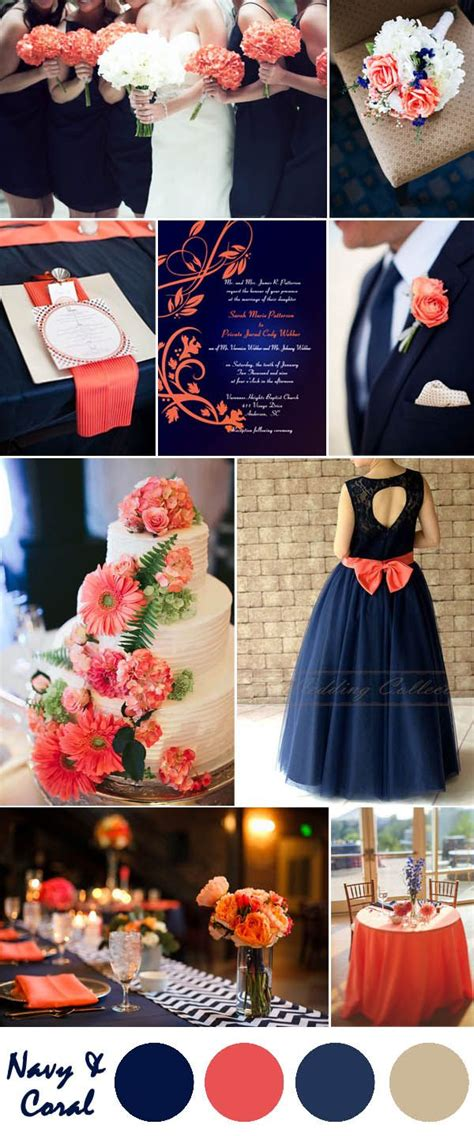 country wedding colors ten most gorgeous navy blue wedding color palette ideas