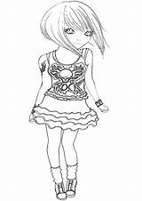 Coloring Pages Topmodel sketch template