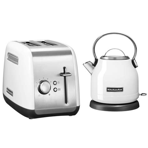 kettle and toaster kitchenaid classic kettle and 2 slot toaster bundle