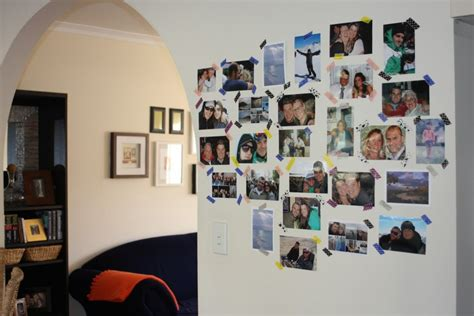 creative picture wall ideas