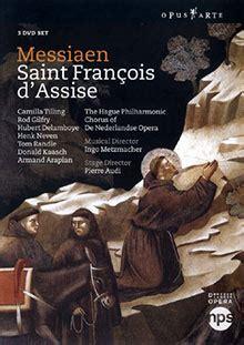 olivier messiaen fran 231 ois d assise audi 3